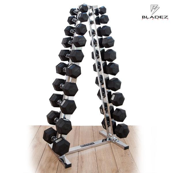 【Bladez】10層電鍍啞鈴架(不含啞鈴)