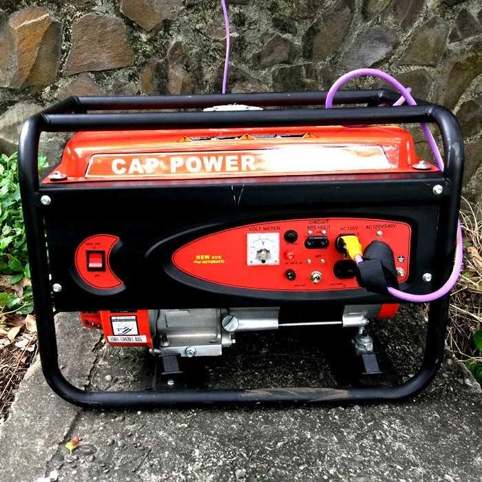 集樂城燈光音響CAP POWER 3500W小型發電機出租