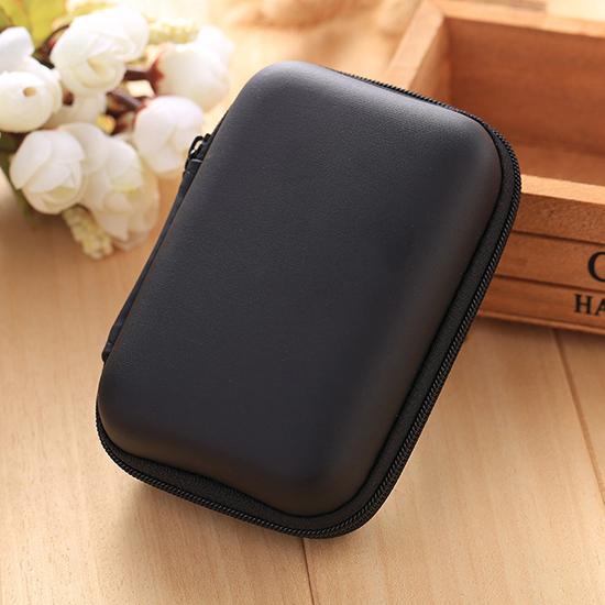 ♚MY COLOR♚長方耳機電線收納包 充電器 耳機包 USB收納 零錢包 置物盒 抗壓 耐震【N200】