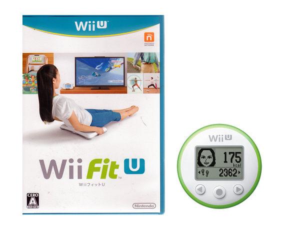 玩樂小熊現貨中Wii塑身U Wii Fit U日文日版附FIT U計步器裸裝版本