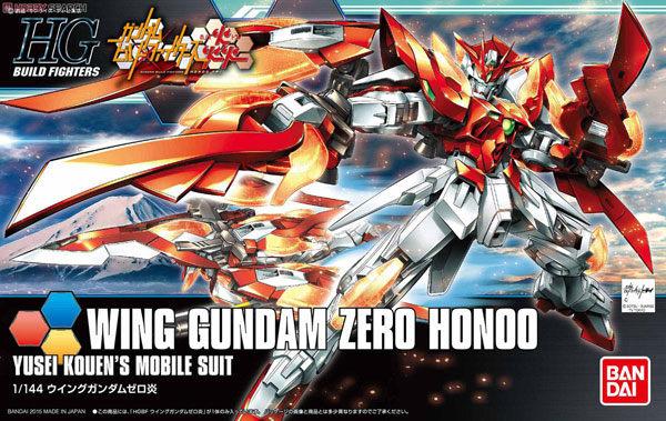 鋼彈模型 HG 1/144 鋼彈創鬥者 WING GUNDAM ZERO HONOO 飛翼鋼彈零式 炎 TOYeGO 玩具e哥