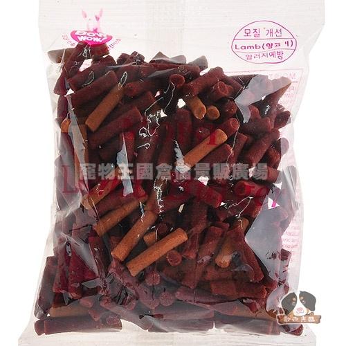 寵物王國韓國BOWWOW鮑爾-羊肉香濃起司條100g