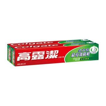【高露潔】特涼薄荷牙膏 200g*2入