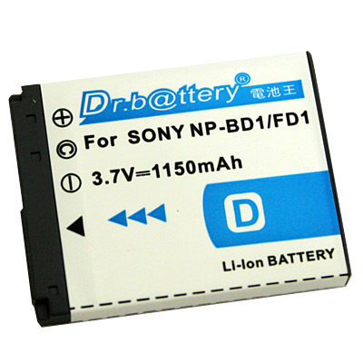 特價免運費~電池王 For SONY NP-FD1/NP-BD1 高容量鋰電池 For T70/T200/T2/T300/T500/T700/T77/T900/T90/T75/TX1/G3