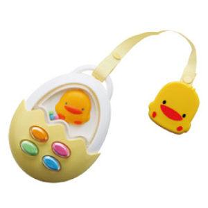 黃色小鴨啾啾蛋殼手機