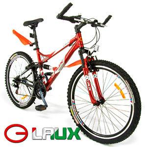啟航26吋18速避震登山車及腳踏車.自行車.卡打車.單車推薦哪裡買專賣店LAUX雷克斯