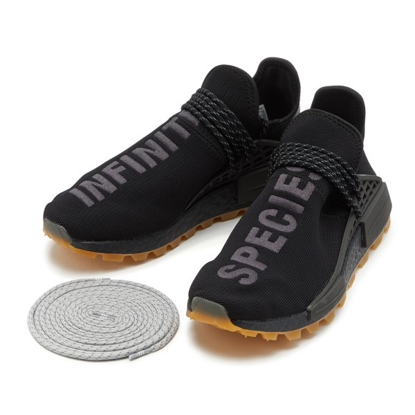 .[TellCathy]Adidas  PHARRELL WILLIAMS HU NMD PROUD  (黑) EG7836