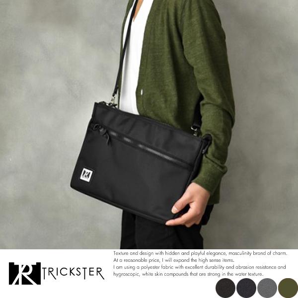 現貨【TRICKSTER】日本機能包 A4超薄斜背包 手拿包 11吋電腦 側背包【tr1607】
