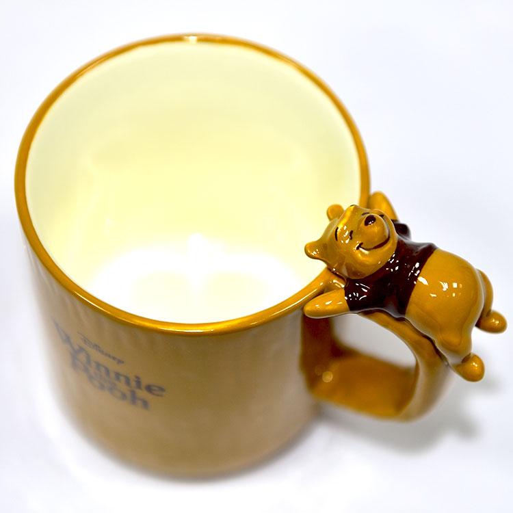 小熊維尼在馬克杯上陶瓷馬克杯正版日本帶回