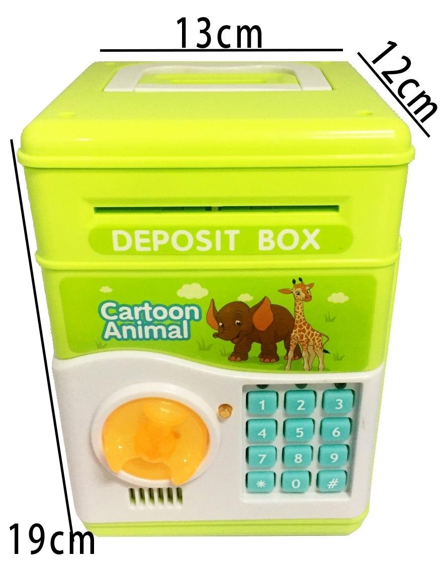保險櫃存錢罐顏色隨機出貨韓日Cute貓咪偷錢熊貓貓咪存錢箱聖誕禮物貓抓老鼠存錢筒