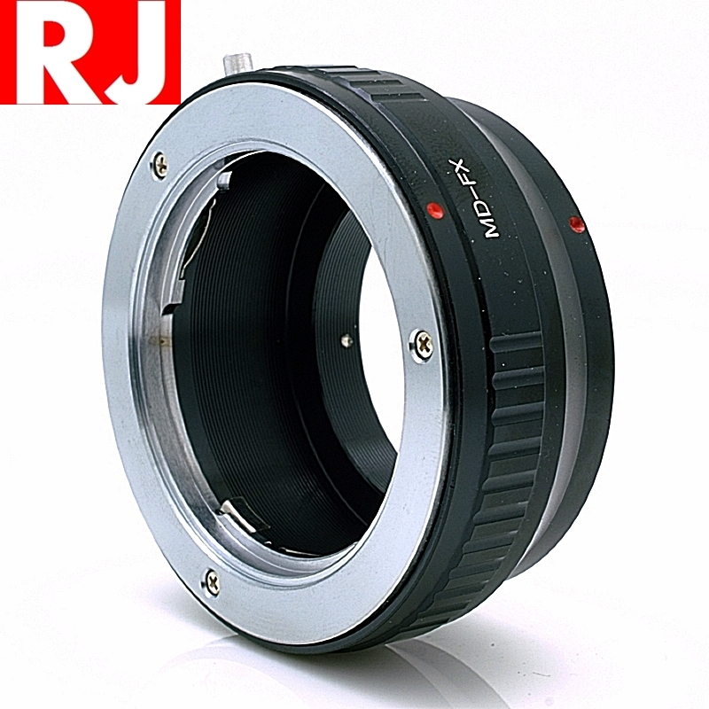 我愛買#RJ製造MD轉FX鏡頭轉接環MD-FX MD轉XF接環MC-FX轉接環美能達MC轉XF MC-XF MD-XF