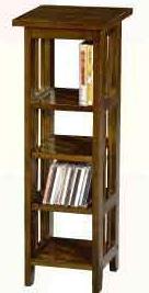 【南洋風休閒傢俱】置物架系列 –實木DVD架  置物架 電話架 收納架 角落架(CY15)