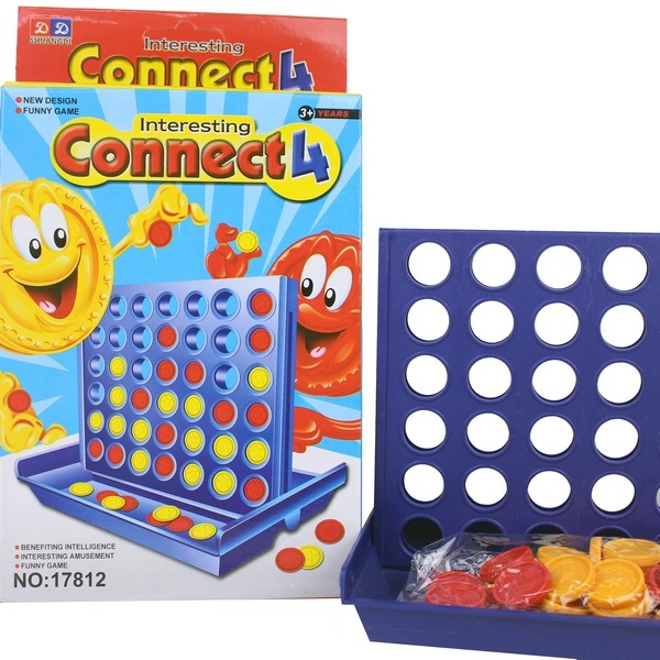 中連環棋 17812 四子棋 四連環棋 /一個入 [#50] 思維策略遊戲兒童益智玩具 CF86371