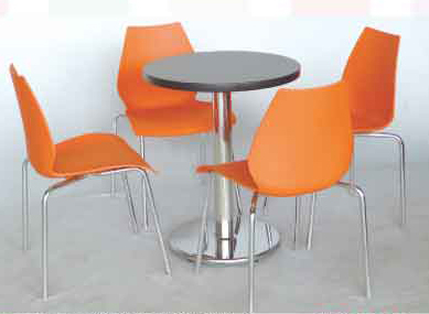 【南洋風休閒傢俱】60/75cm美耐板圓桌 莉莉椅/Y-chair/伯爵 洽談椅 餐椅 休閒椅 (565-1)