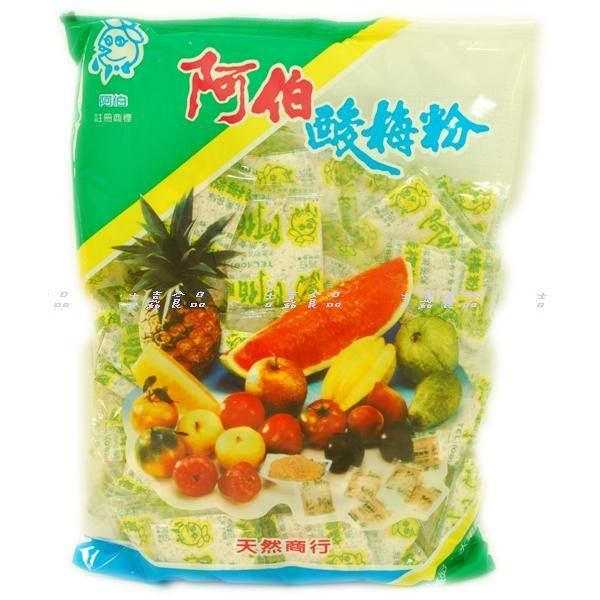 吉嘉食品阿伯甘草粉阿伯酸梅粉1包500公克48元1