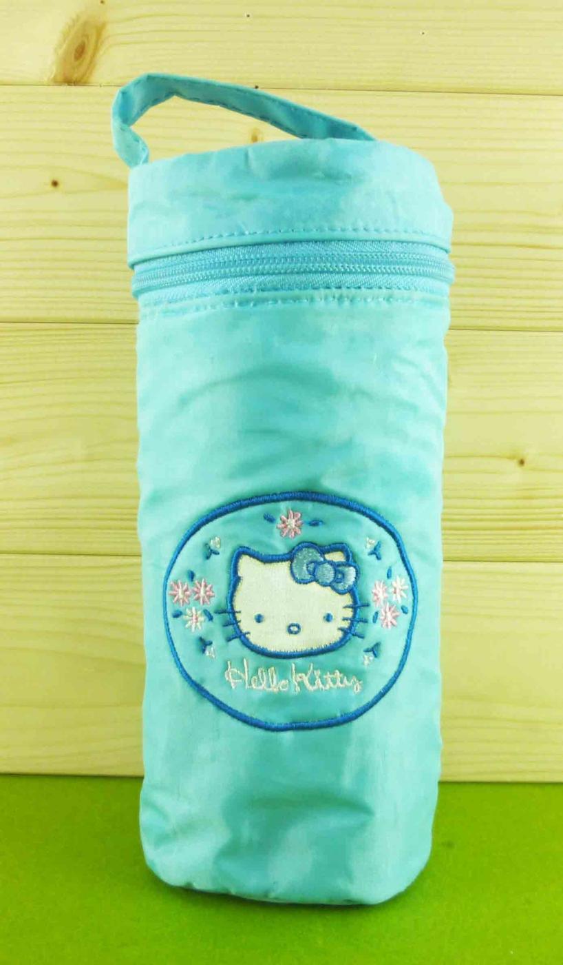 震撼精品百貨Hello Kitty水壺袋-藍色款大共1款