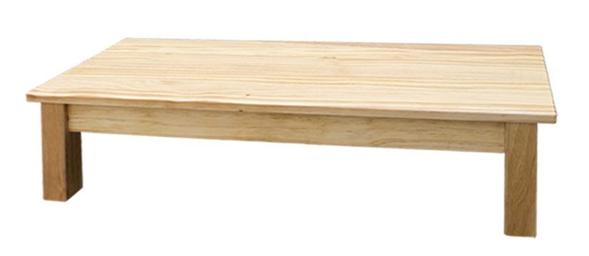 【IS空間美學】原木板狀長條椅