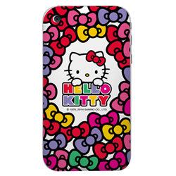 Hello kitty手機彩繪包膜DIY機身貼現代蝴蝶結系列201保護貼
