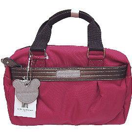 【波克貓哈日網】日系流行2用包◇nicolettamoretti◇《桃紅色》手提包斜背包