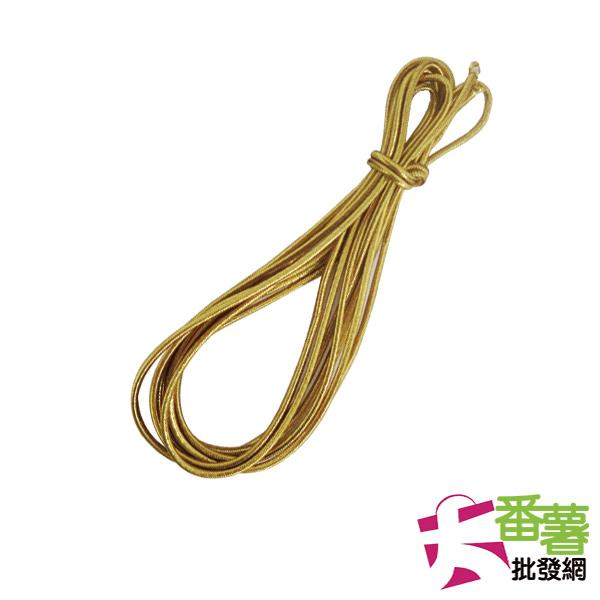 【台灣製】金蔥/銀蔥伸縮帶(顏色隨機出貨) [10K1]-大番薯批發網