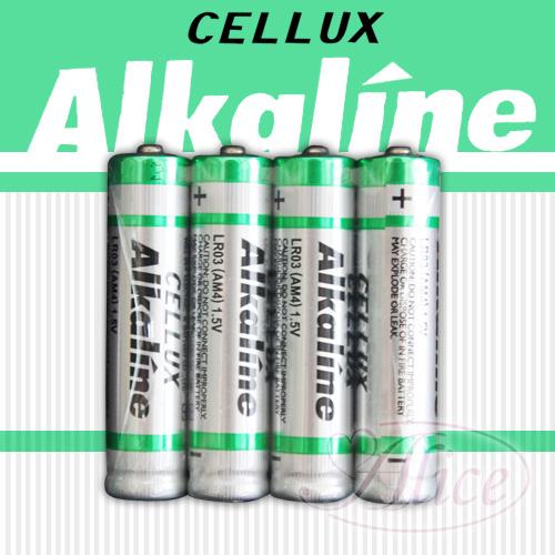 情趣用品女王 【CELLUX】4號環保鹼性電池(4顆入)