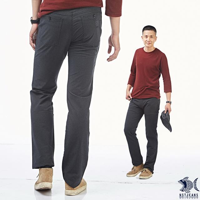 [即將斷貨] NST Jeans 暗岩灰特彈商務休閒褲(歐系修身小直筒) 380(5580) 帥大叔 台製 紳士 男