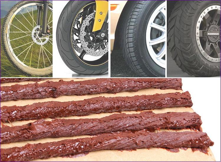 【洪氏雜貨】 A10136011-1 F-65 補胎條5入 短(現貨 預購) 汽機車補胎工具組 汽車補胎工具組 補胎