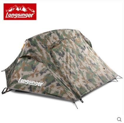 熊孩子❃單兵帳美國特種部隊 自動式帳篷單人帳篷雙層鋁桿戶外野營(主圖款迷彩)
