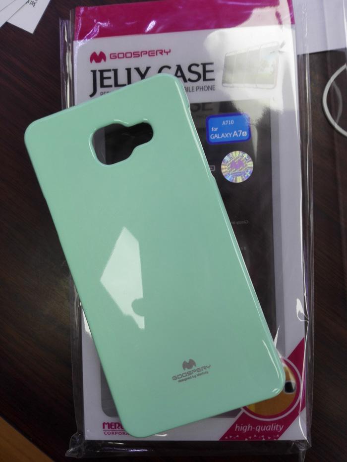 88柑仔店-韓國Goospery三星Galaxy A7 A7100手機殼2016版保護套閃粉矽膠軟殼套