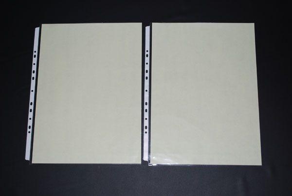[鼎盛] 603-A3-11孔PP真珠條內頁附紙10張/包