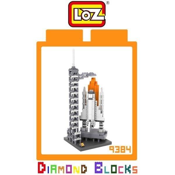 LOZ 迷你鑽石小積木 樂高式 太空梭發射中心 系列 益智玩具 組合玩具 原廠正版 世界建築系列