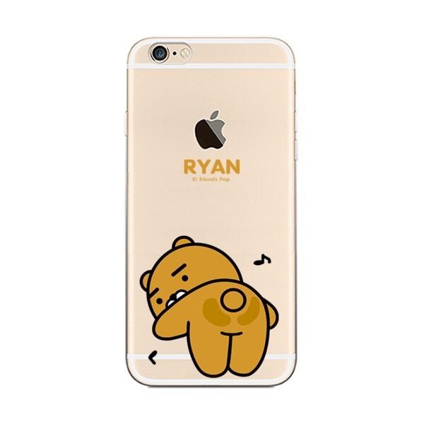 iPhone手機殼 鐵盒精裝版 翹屁屁的RYAN 矽膠軟殼 蘋果iPhone7/iPhone6手機殼