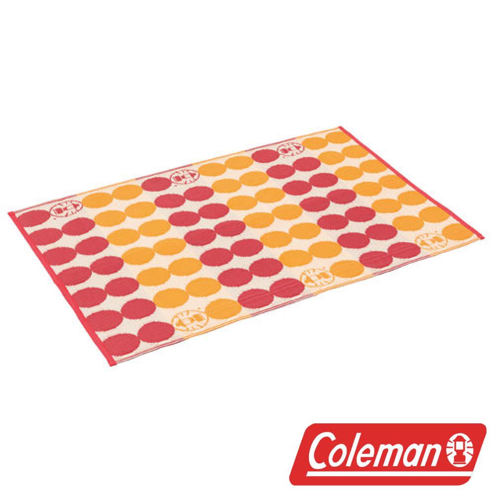 美國Coleman戶外地毯點點紅露營野餐遊戲墊睡墊地墊防潮墊CM-26876