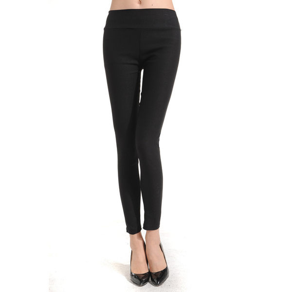 TwinS馬卡龍糖果色高腰時尚打底九分褲鉛筆褲高彈力顯瘦窄管纖腿褲批發價