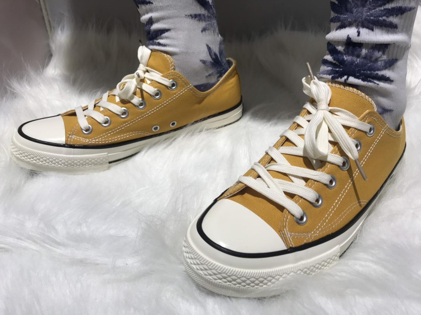 X-INGCHI. 擦油基本男布鞋 黃 NO. X0002
