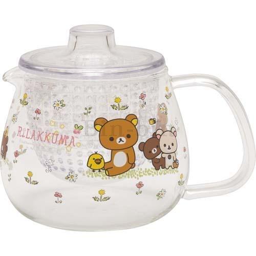 拉拉熊 透明耐熱水壺/719-061