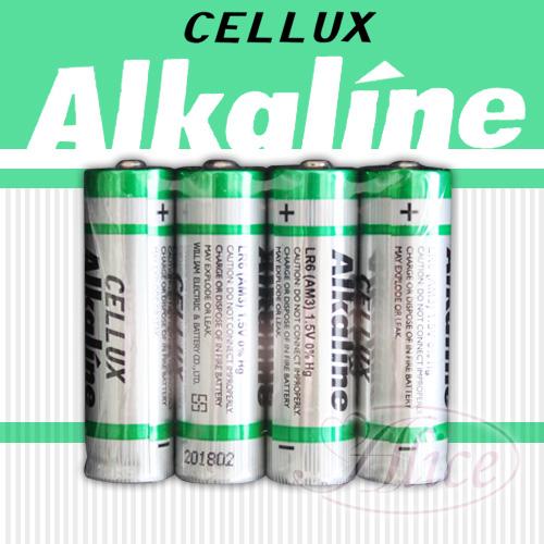 情趣用品女王 【CELLUX】3號環保鹼性電池(4顆入)