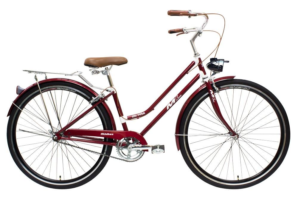 歐洲時尚單車 紳士復古懷舊腳踏車 適用行動餐車改裝 裝置藝術道具 美騎樂自行車 ML-195A 台灣組裝