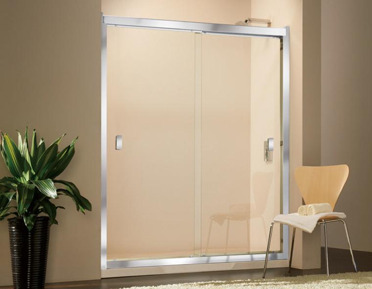 麗室衛浴美國KOHLER STANCE系列K-37465T-L-SHP一字型雙橫推門150*H190CM