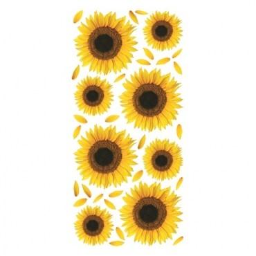 義大利立體磁磚貼飾S-向日葵