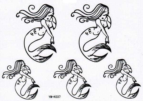 薇嘉雅       紋身貼紙 k-037