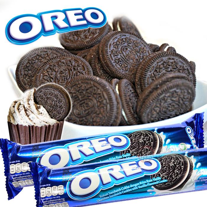 OREO奧利奧夾心餅137g原味香草餅乾ID221028千御國際
