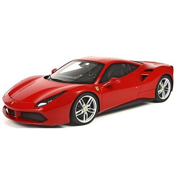 限時68折《 Bburago 》1/18法拉利平裝版- 488 GTB 跑車 模型車 ╭★ JOYBUS玩具百貨