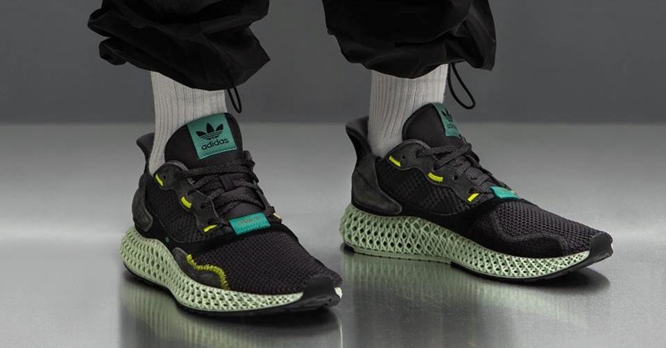 v[TellCathy]Adidas ZX 4000 4D Carbon 碳黑 BD7865