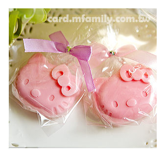 幸福朵朵精巧單包裝kitty香皂迎賓送客二次進場抽獎活動來店摸彩畢業禮物婚禮小物