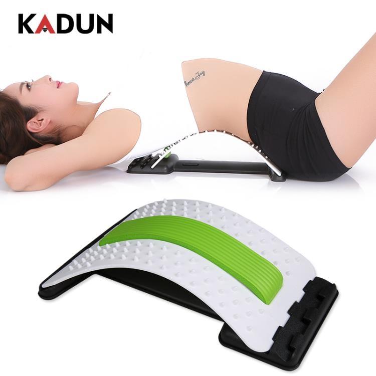 腰間盤腰椎突出牽引器家用拉伸矯正器靠墊脊椎護腰帶