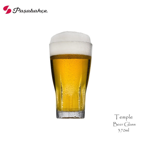 Pasabahce Temple強化啤酒杯370cc 啤酒杯 強化水杯 果汁杯 飲料杯