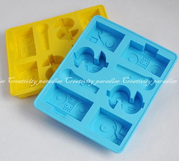 嘻哈搖滾造型冰塊製冰盒冰格模具