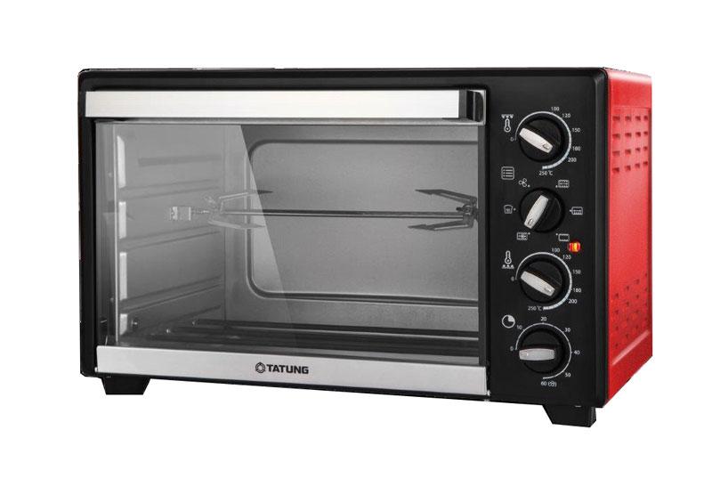 大同35L雙溫控旋風電烤箱TOT-B3504A