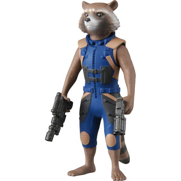 MARVEL漫威人物星際異攻隊火箭浣熊合金人形Metacolle